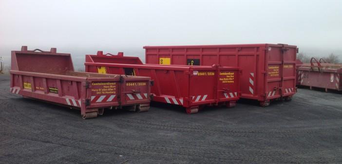 Containerdienst- Containerverleih